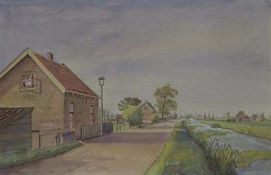 IX-420-00-05 De Bovendijk op de grens van Overschie en Schiebroek.