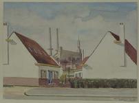 IX-452 Gezicht in de Brikstraat van de Baardsestraat, uit het noorden.