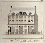 RI-1072 Het Boterhuis aan de Nieuwemarkt.