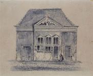 RI-1085 Het Accijnshuis aan het Grotekerkplein, hoek Lange Torenstraat.