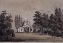 RI-1094 Gezicht op de ingang van de begraafplaats in Crooswijk.