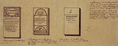 RI-1145-1 Gedenkstenen van de drie Zerken van Portugese Israelieten, gevonden op de Buitenplaats Groenendaal in ...