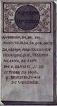 RI-1145-2 Gedenksteen van de Zerken van Portugesche Israelieten, gevonden op de Buitenplaats Groenendaal in Crooswijk, ...