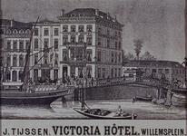 RI-1179 Victoria hotel aan het Willemsplein.