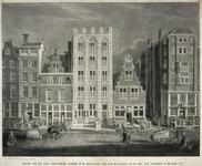 RI-1186 Gezicht op het huis Engelenburg aan de Hoogstraat bij de Nauwe Marksteeg.