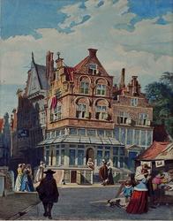 RI-1194 Het Huis In Duizen Vreezen, 17e eeuw.