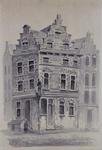 RI-1199 Het huis Marquis Spinola aan de Spaansekade, hoek Nieuwehaven.