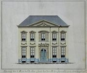 RI-1206 Het huis van Gerrit van der Pot van Groeneveld, aan de Korte Hoogstaat.