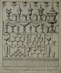 RI-1241 Loterijprent van 1604. De loterij werd gehouden ten voordele van het gasthuis te Rotterdam.
