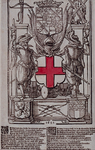 RI-1262-1 1642Nieuwjaarsprent van de provoosten van de Sint Joris Schutters te Rotterdam.