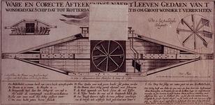 RI-1270 Het wondelijke schip Blixem van de See is gemaakt in Rotterdam. De afmeting van het schip is: de lengte 72 ...