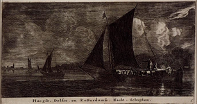 RI-1277 Haegse, Delfse, en Rotterdamse, Nacht - Schuijten.