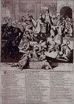 RI-1292 Hollands hollende koe.Geestige spotprent op de verkrachting der priviligiën van verschillende steden, waaronder ...