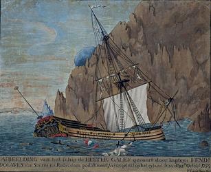RI-1322 22 oktober 1754De Hester Galey die onderweg is van Smirna naar Rotterdam zinkt voor de kust van het het eiland Jura.