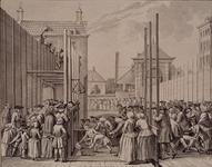 RI-1328 Eerste steenlegging van het Weeshuis op 20 januari 1762 aan de Goudsewagenstraat door Nicolaas Hendrik van ...
