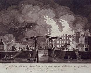 RI-1353-2 11 maart 1779Brand aan de Pottebakkerssteeg.