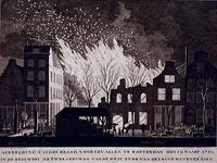 RI-1359-2 19 maart 1782Brand in de brouwerij De Twee Leeuwen aan de westzijde van de Leuvehaven.