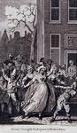 RI-1362-B 8 maart 1783Oranjefeesten te Rotterdam ter gelegenheid van de verjaardag van de stadhouder Willem V.