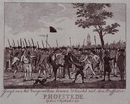 RI-1364 1 september 1783De orangistische dominee P. Hofstede wordt in Utrecht door leden van een vrijkorps mishandeld.