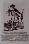 RI-1376 1784Spotprent op de patriottische adelborst P. de Waal.