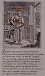 RI-1380 Spotprent op Keet Zwenke, vriendin van Kaat Mossel.