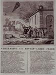 RI-1385 Spotprent op orangisten, uitgegeven bij de komst van de Statencommissie die tot taak had onderzoek te doen naar ...