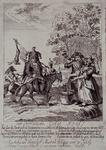 RI-1387 1784Spotprent op de Oranje- of Prinsgezinden.