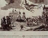 RI-1390-1-EN-2 Oktober en november 1784Hellevaart van een landverrader. Met een verklaring van de Konst-Plaat.
