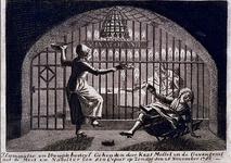 RI-1393 Kaat Mossel in de Gevangenis, met de meid en de naaister van de cipier.