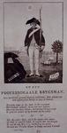 RI-1405-1 1785Spotprent op de krijgsman ds. J.J. le Sage ten Broek.