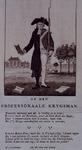 RI-1406 1785Spotprent op de krijgsman ds. J.J. le Sage ten Broek.