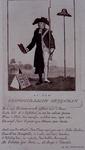 RI-1408 1785Spotprent op de krijgsman ds. J.J. le Sage ten Broek.
