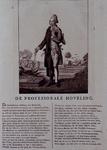 RI-1409 1785Spotprent op de orangistische dominee Ds. P. Hofstede.