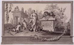 RI-1413-5 24 april 1786Symbolische afbeelding van de Vrede, vervaardigd ter gelegenheid van het Alliantiefeest tussen ...