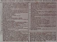 RI-1426-2 1787Tekst behorende bij de spotprent op de patriotten: de begrafenis van een grote zalm.