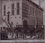 RI-1430 20 september 1787Aankomst van de Pruisen in de Hoogstraat.