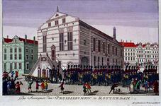 RI-1431 20 september 1787Aankomst van de Pruisen in de Hoogstraat.