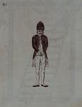 RI-1434-1 1787Spotprent op de vlucht van ds. J.J. le Sage ten Broek bij de aankomst van de Pruisen..