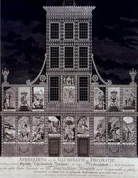 RI-1439 8 maart 1788Illuminatie en decoraties voor het huis der Oprechte Vaderlandsche Sociiëteit op het Westnieuwland ...