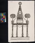 RI-1454 7 augustus 1788Illuminatie voor het huis van H. Kloete aan de Vischsteeg ter gelegenheid van de verjaardag van ...