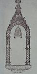 RI-1455 1788Afbeelding van de erepoort voor het huis van scheepstimmermansbaas J. Kleyweg aan de Zwaanshals ter ...