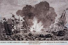 RI-1461-1-EN-2 Ontploffing van het admiraliteitsjacht op de Nieuwe Maas.