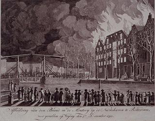 RI-1464 7 december 1792Brand in de mouterij op de Nieuwehaven.