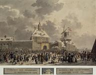RI-1475 21 januari 1795.Aankomst der Fransen, buiten de Oostpoort.