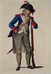 RI-1485-14 Militair in uniform.