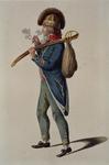 RI-1485-16 Militair in uniform.
