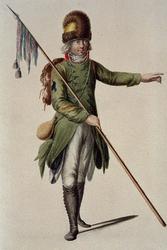 RI-1485-17 Militair in uniform.
