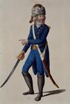 RI-1485-18 Militair in uniform.