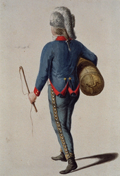RI-1485-19 Militair in uniform.