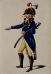 RI-1485-2 Militair in uniform.
